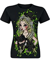 Cupcake Cult Mother T Shirt Black Ladies Toothless Dragon Cosplay Print
