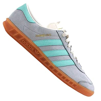 Kult Adidas Schuhe Leder Originals Sneaker M19671 Grau Hamburg Samba nN0wm8
