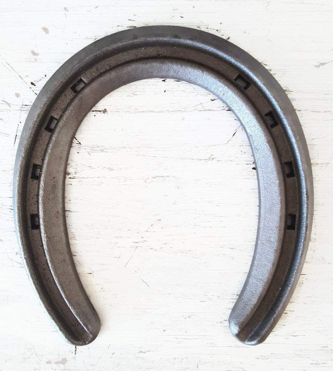 New Steel Horseshoes Lite Rim Size 00Sand Blasted- Heritage Forge 2 shoes