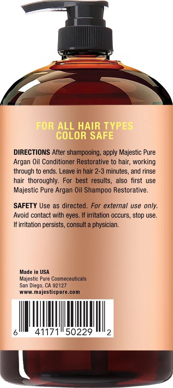 Amazon Majesticpure Argan Oil Hair Conditioner Pure And