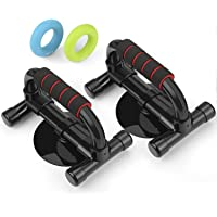 Intey Push-Up Handle Stands with Strong Suction 2 Hand Strengthening Rings