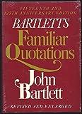 Bartlett's Familiar Quotes