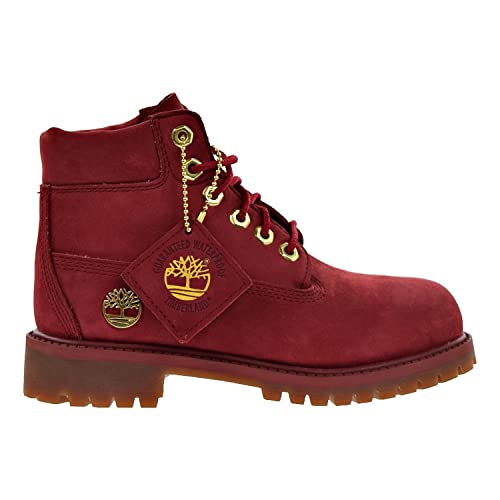 3ef327ca0fd Amazon.com | Timberland 6 Inch Little Kids Premium Boots Red ...