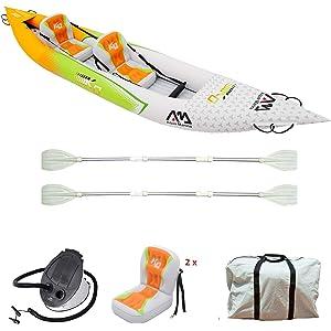 Aqua Marina Inflatable Kayak HM-KO with Super Accessory Pack: Double-edged Paddle