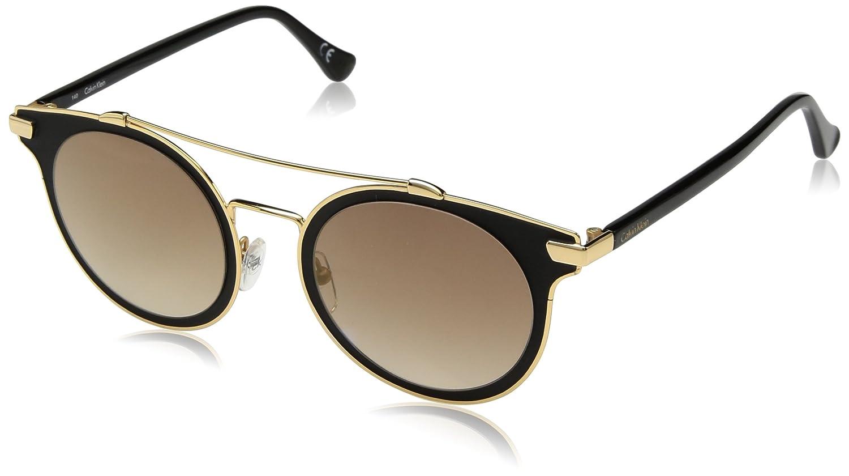 Amazon.com: Calvin Klein Womens Ck2149s Round Sunglasses ...