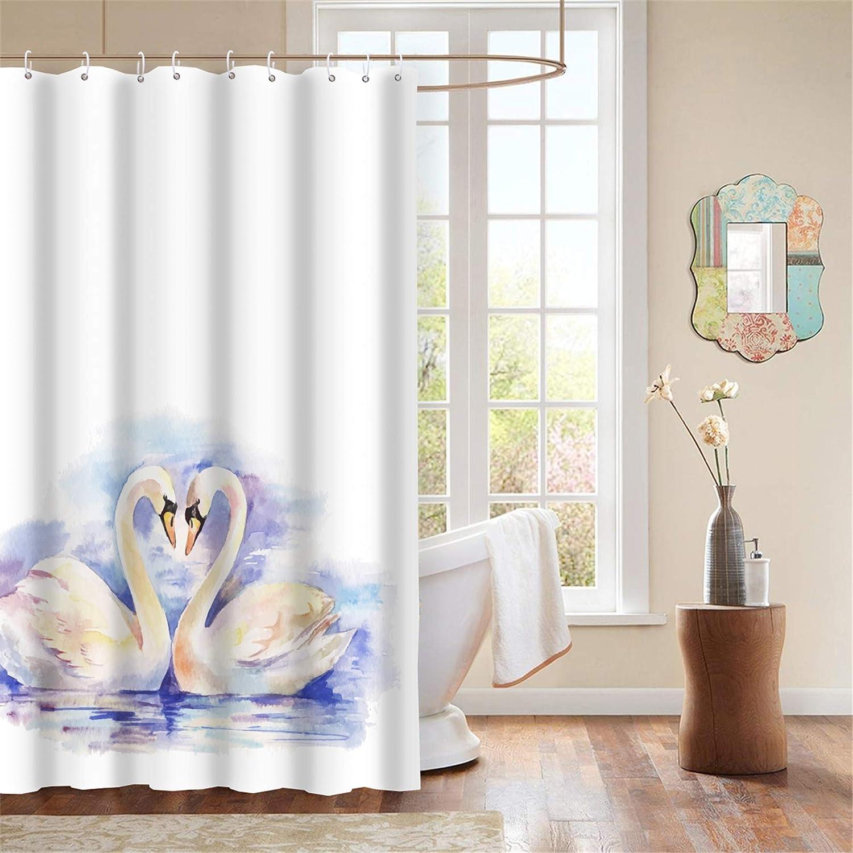Waterproof Anti-Mildew Make Bathroom Unique ThinkBigHome: Fabric Shower Curtain Bathroom Cats Home Decor Great Gift