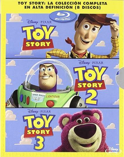 Pack: Toy Story 1, 2 Y 3 [Blu-ray]: Amazon.es: Tom Hanks, Tim ...