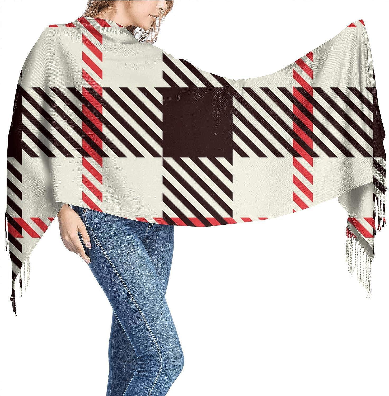 Women Warm Soft Winter Lasting Scarf Fashion Print Wrap Oversized Shawls