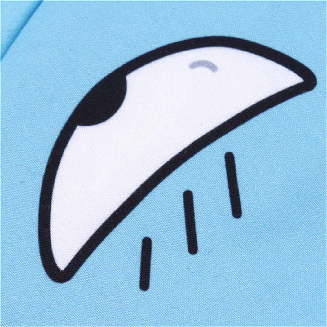 LZIYAN Sleep Masks Cartoon Sleep Eye Mask Soft Cute Eyeshade Eyepatch Travel Sleeping Blindfold Nap Cover,Blue by LZIYAN (Image #5)