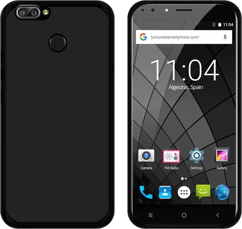 Tumundosmartphone Funda Gel TPU para OUKITEL U22 Color Negra ...
