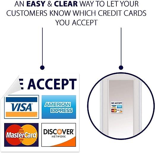 Amazon.com: Tarjeta de Crédito Sign, VISA MasterCard AMEX ...
