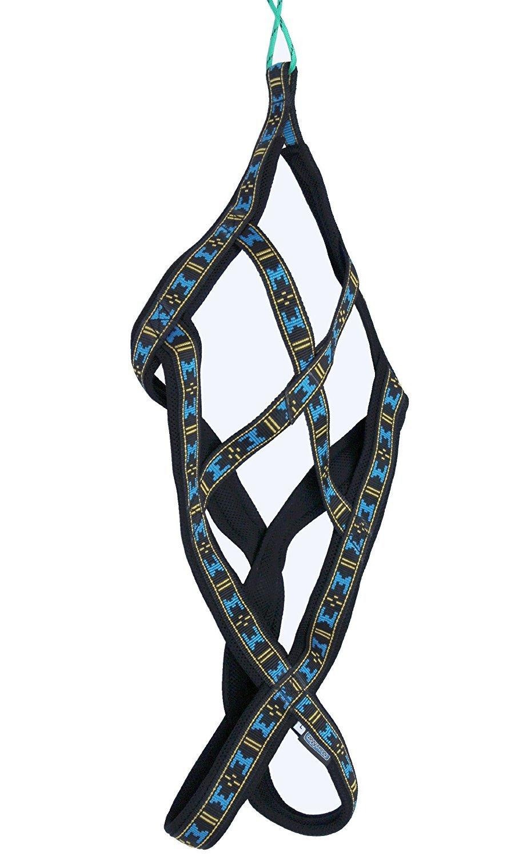 Weight Pulling Sledding Dog Harness X-back Style Black Medium, 19.5  Neck Circumference