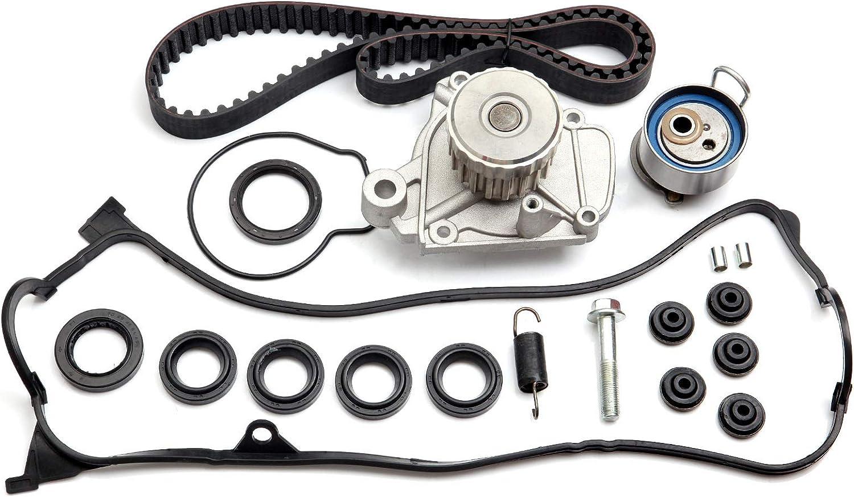 ANPART Timing Belt Kit Fit For 2001-2005 Honda Civic Timing Belt Water Pump Tensioner Gasket Set
