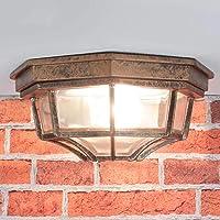 Lámpara de techo nostálgica para lámpara de exterior