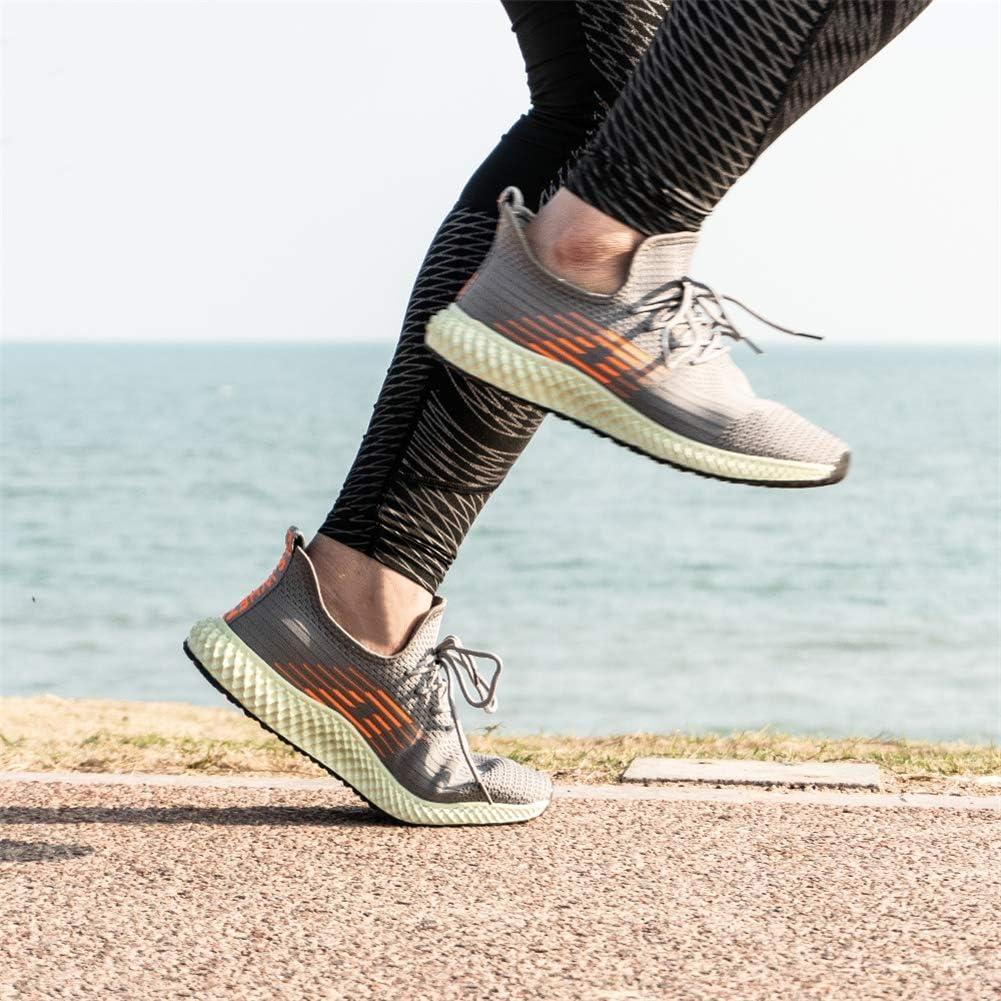 Laufschuhe Herren Turnschuhe Damen Schn/ürsenkel Sneaker rutschfeste Atmungsaktiv Leicht Freizeitschuhe Outdoor Fitness Stra/ßenlaufschuhe Schwarz Blau Grau Rosa Wei/ß EU36-EU47