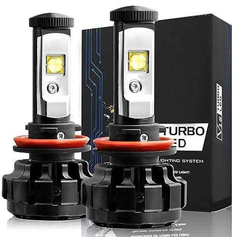 luxtar LED bombillas para faros delanteros Kit de conversión – H11 (H8), CREE
