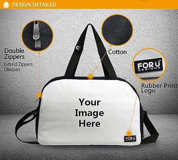 a729fd87d3cb OuLian Gym Bag Watercolor Horse Women Yoga Canvas Duffel Bag Cute Sports Bag  for Girls