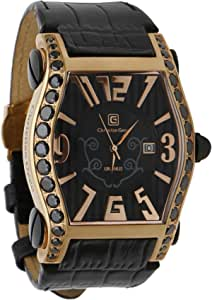 Christian Geen Analog Watch For Men - Leather , Black - 4825Glrw-Wh