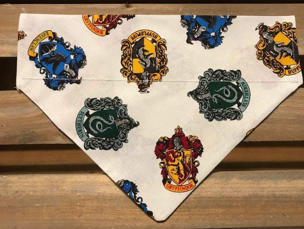 Harry Potter Fans! Hogwarts Houses Dog Bandana