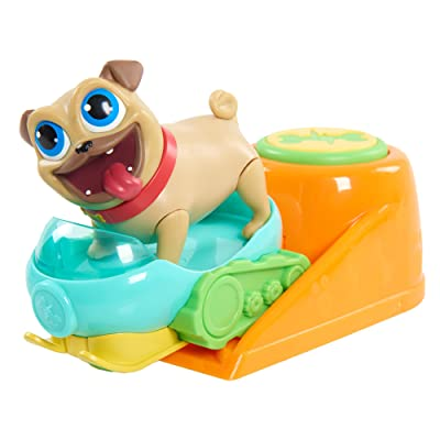 Puppy Dog Pals Rolly with Snowmobile & Launcher: Toys & Games