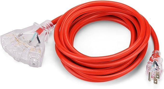 Simbr extension lead 5 M 2-Gang Câble Heavy Duty Cordon Avec 13 A prise de courant Noir