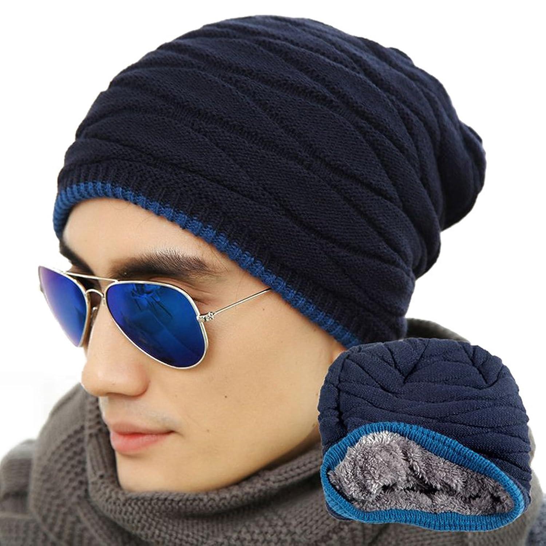 hibote Herren Damen Beanie Outdoor Ski Sports Warm Mutzen stricken ...