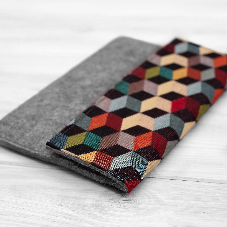 étui/housse/sleeve/pochette pour tablette iPad Pro Air 9.7 10,5 11 et 12.9 tissu feutre