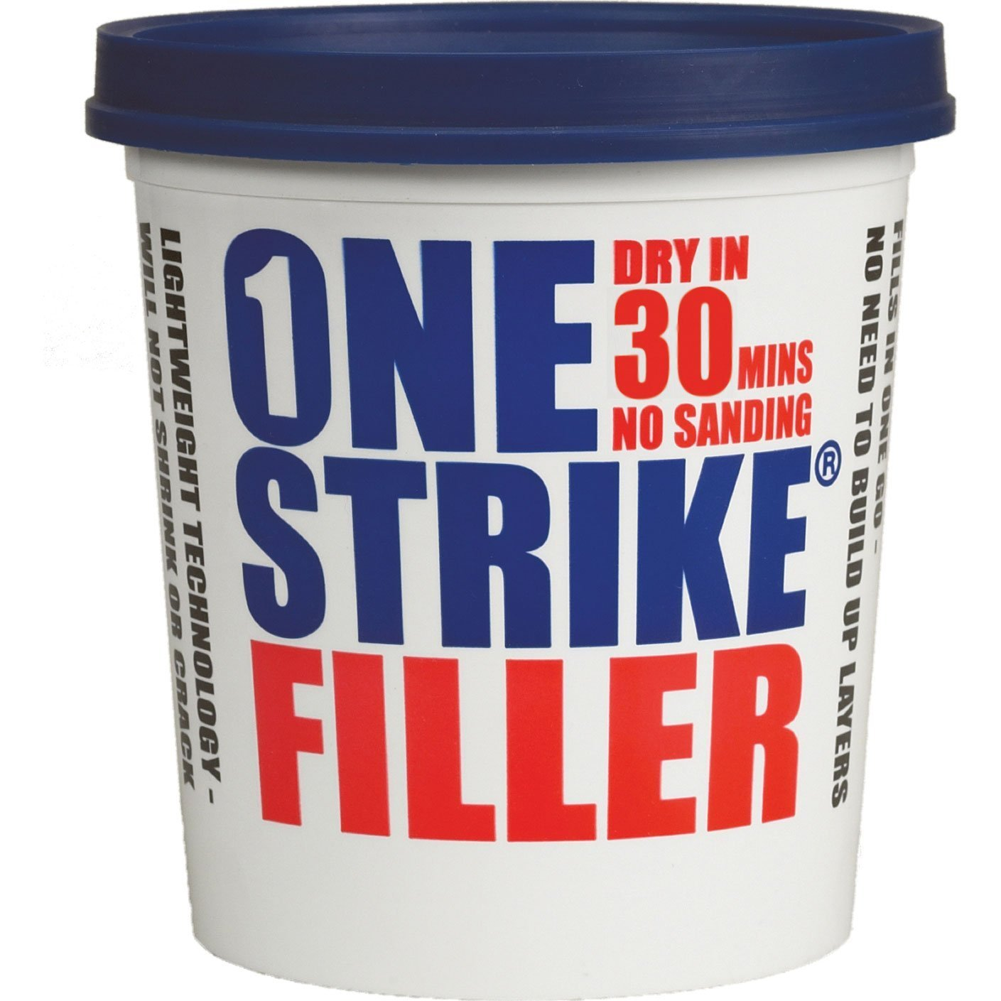 Everbuild ONES5 One Strike Filler, Multi-Colour, 5 Litre