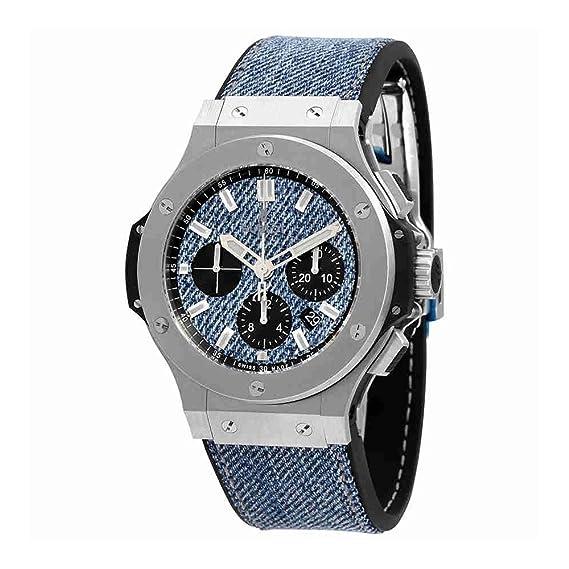 Hublot Big Bang azul Jeans para hombre reloj automático 301. SX. 2770. Nr. jeans16: Amazon.es: Relojes