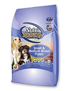 Nutrisource Sm/Med Breed Dry Puppy Food 15 Lb