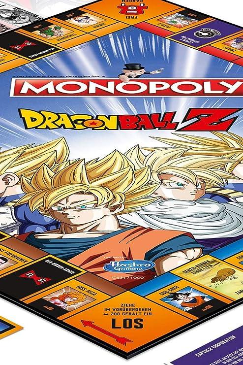 Winning Moves- Monopoly-Dragonball Z Accesorios:, Color Dragon Ball z, estándar (44857): Amazon.es: Juguetes y juegos