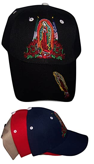 22e38a2ba22  quot  Virgin of Guadalupe quot  Catholic Mexican Baseball Caps Embroidered  ...