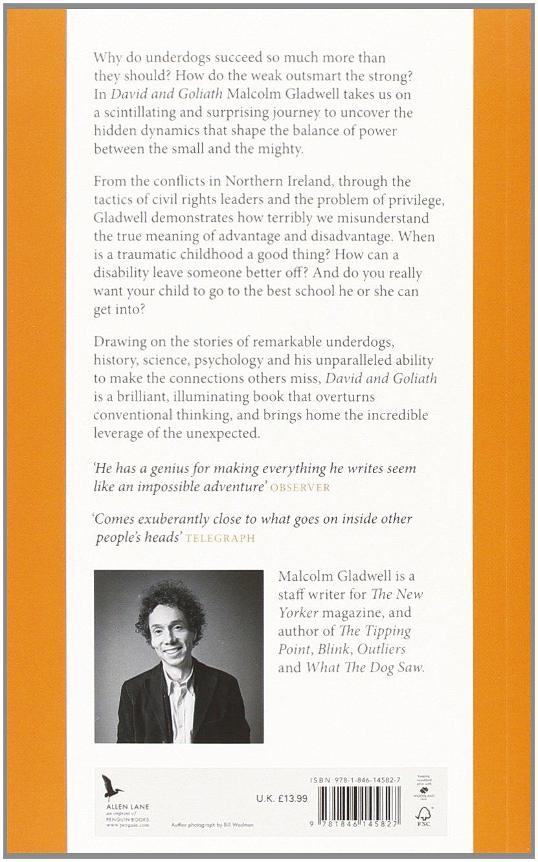 David goliath livros na amazon brasil 9781846145827 fandeluxe Gallery