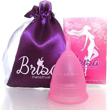 Copa menstrual, reutilizable y cómodo – Brisa es un modelo ...