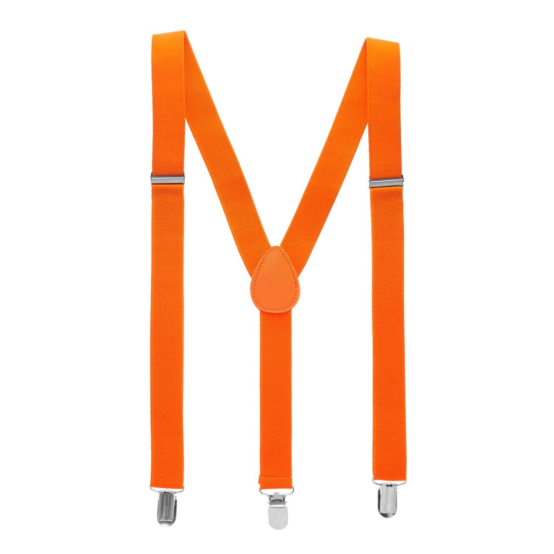 Solid Colors Man of Men Bowtie /& Suspenders Sets
