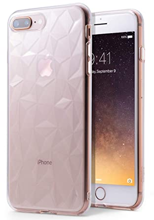 clear patterned iphone 8 plus case
