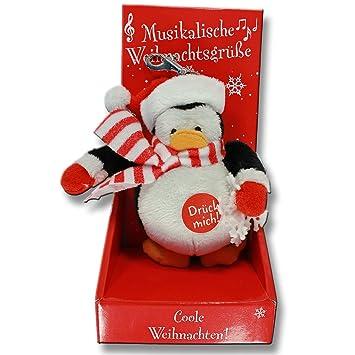 Weihnachtsgrüße Musikalisch.Amazon De Depesche Musikalische Weihnachtsgrüße Weihnachten Pinguin