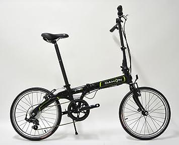 Bicicleta plegable Pack Vybe D7 Obsidian negro