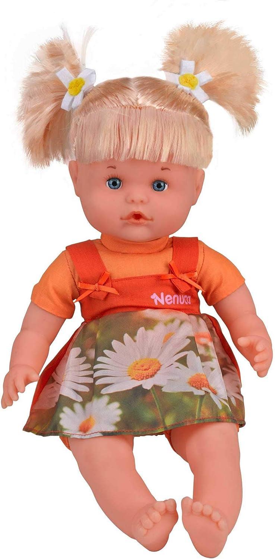 Nenuco Muñeca bonita como tú con vestido naranja (Famosa 700013834), . (5 años)