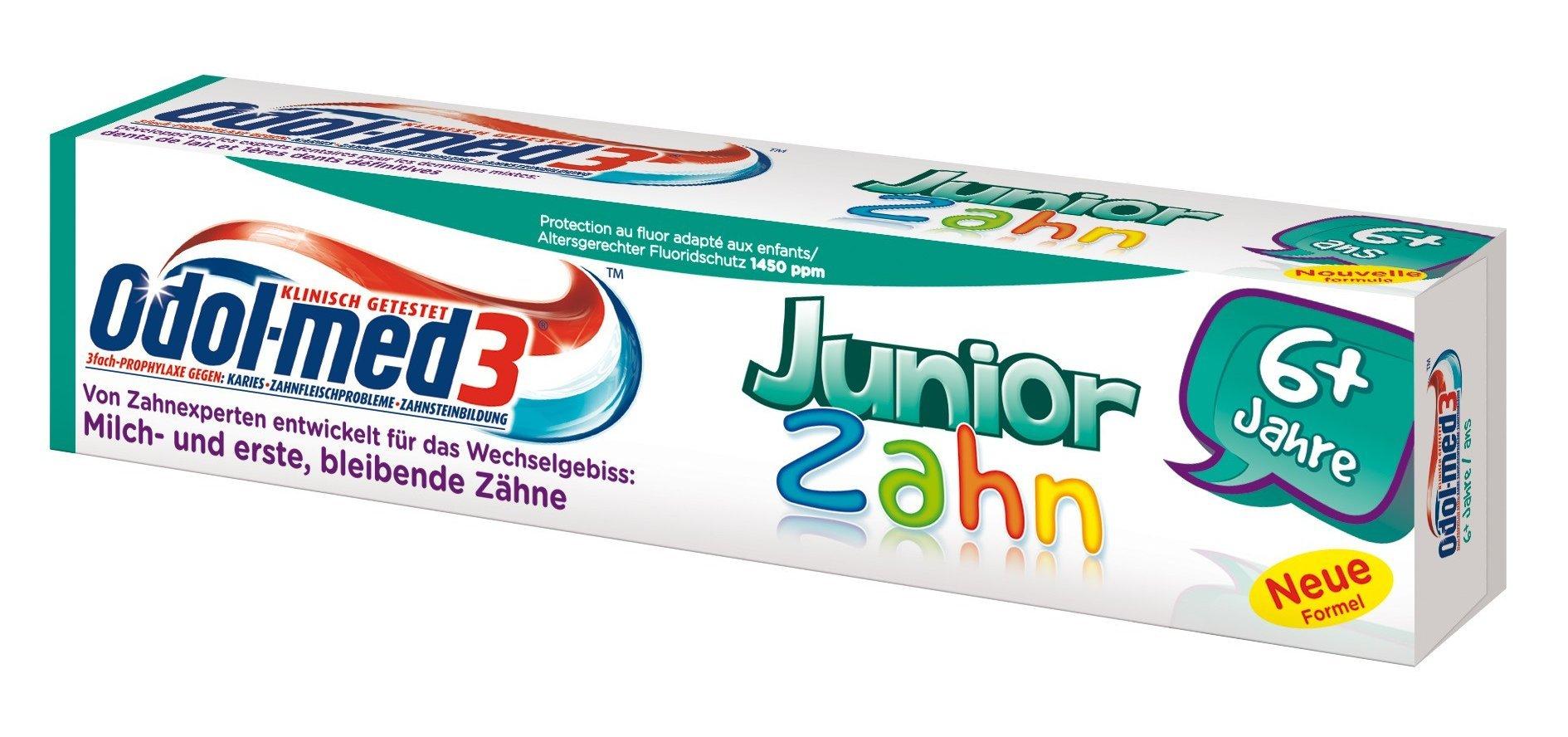 Odol-med 3 Junior 6+ Years Mild Fresh Flavor 50ml