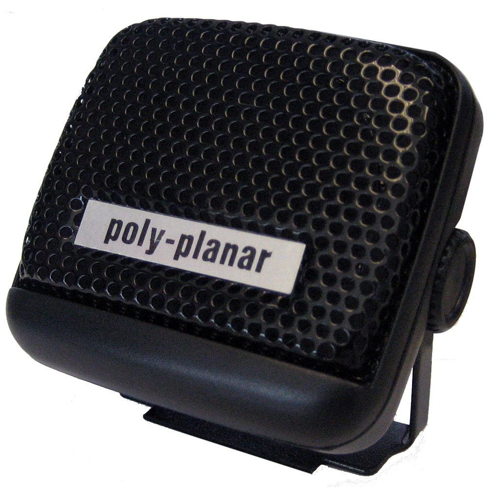 PolyPlanar VHF Extension Speaker 8W Surface Mount Single Black