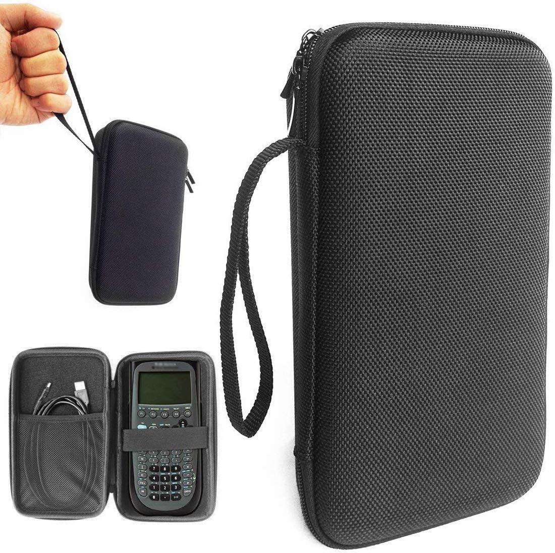 FitSand (TM) estuche de estuche de Carry cremallera duro EVA Almacenamiento Portátil Protector Caja de viaje para Texas Instruments Ti-89 titanio programable, Texas Instruments, Casio, HP, SainSmart – Calculadora gráfica: Amazon.es: Electrónica