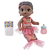 Deals on Baby Alive Shimmer n Splash Mermaid Baby Doll, Black Hair