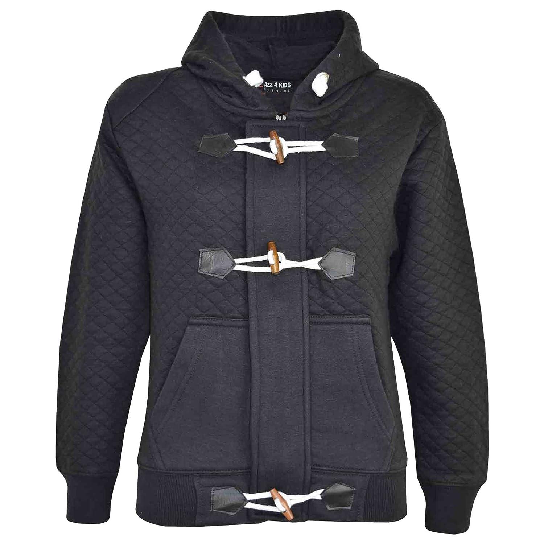 A2Z 4 Kids/® Girls Boys Duffel Hoodie Kids Quilted Fleece Hooded Jacket New Age 7 8 9 10 11 12 13 Years