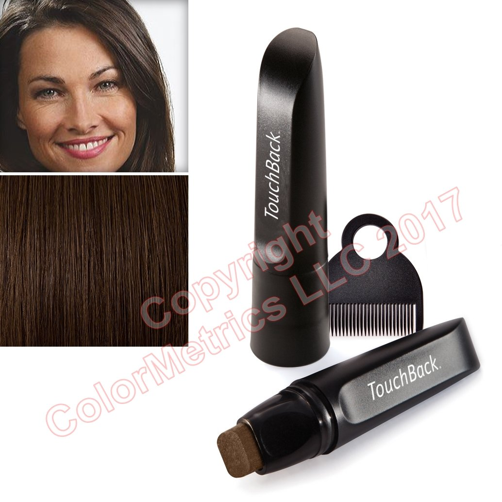 TouchBack PRO Root Touch Up Hair Color Marker Medium Brown
