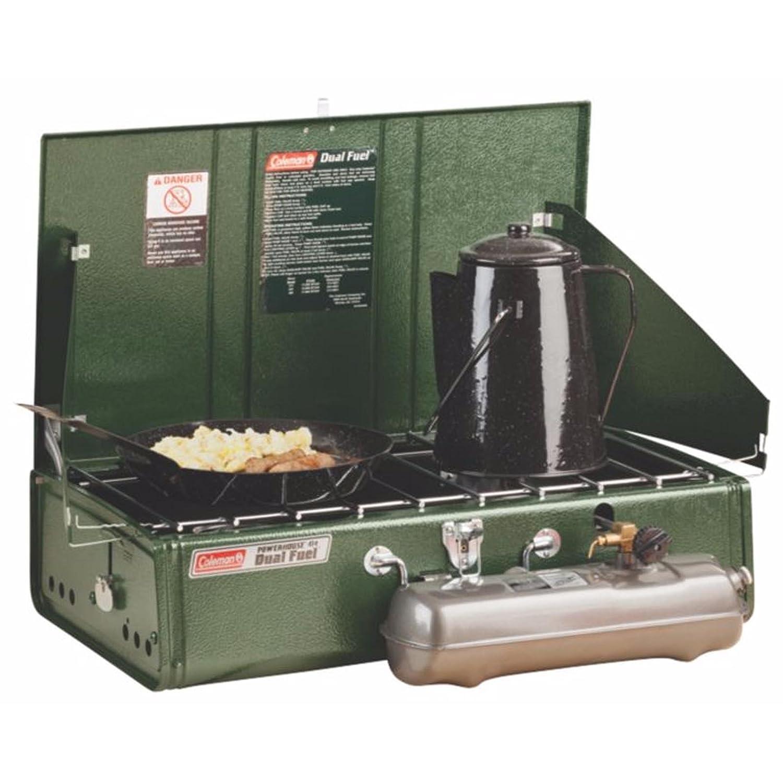 Coleman 2-burner gas stove 2016 petrol stove: Amazon.co.uk ...