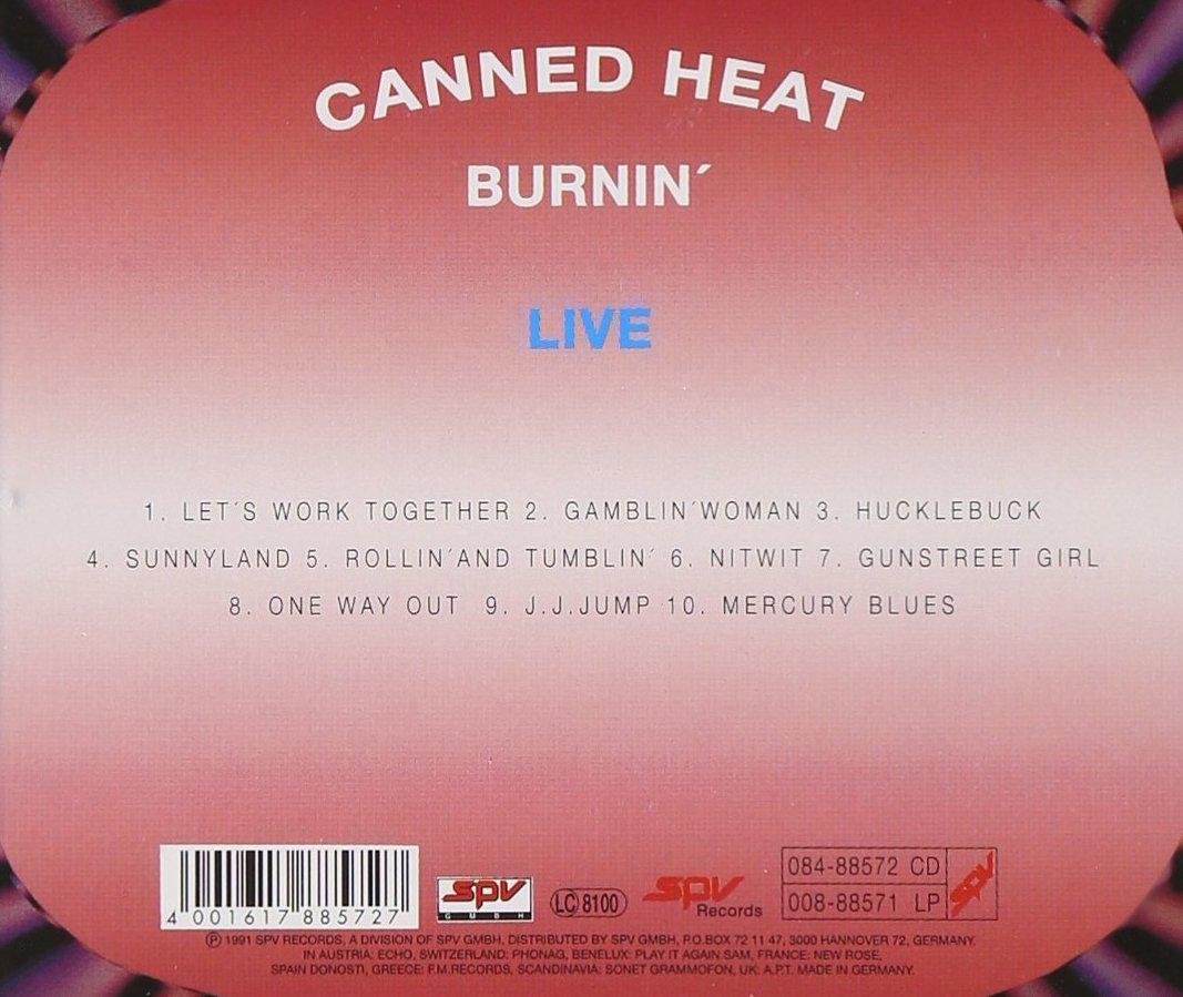 Burnin Live by Spv Germany
