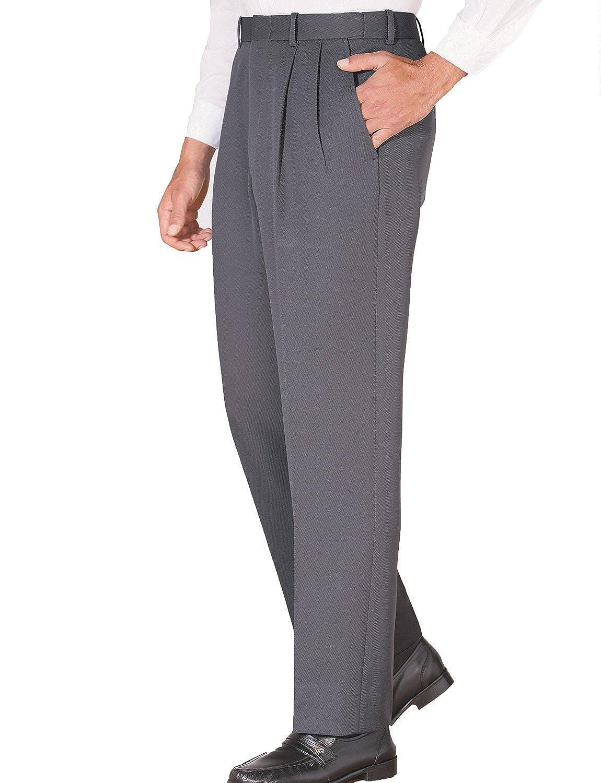 TALLA Cintura 81cm x Longitud De Las Piernas 84cm. Pantalones de Caballería Sarga con Cintura Elástica, para Hombre