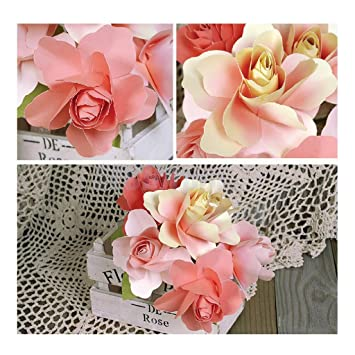 Amazon Diy Paper Flower Embellishments Crafts For Card Making