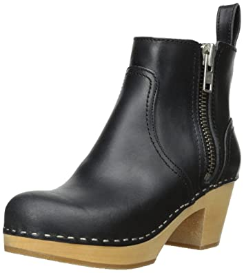 41550acb5654 swedish hasbeens Women s Zip IT Emy Ankle Boot